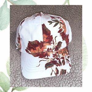 Accessories - Pretty Floral Adjustable Baseball Cap